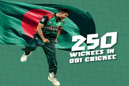 Mashrafe Bin Mortaza A bright star of Bangladesh