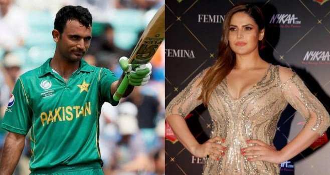 Bollywood actress Zareen Khan dating Pakistani cricketer Fakhar Zaman